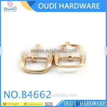 10mm shoe mini metal buckles accessories for leather strap decoration