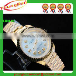 New Year Gift 2016 stainless steel Strp Vintage Watches For Woman