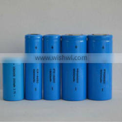 lithium iron phsophate battery 18650 lifepo4 rechargeable battery 1500mah