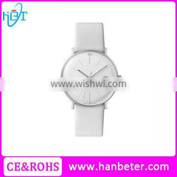 Latest Design Gold Color White Face Accept Logo Ladies Watches Brands