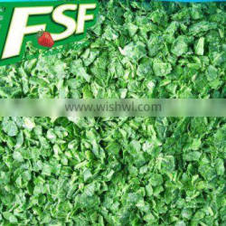 IQF spinach chopped leaves