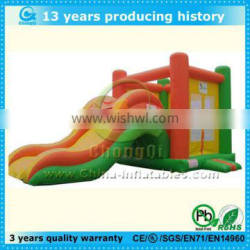 best selling inflatable bouncy castle with slide
