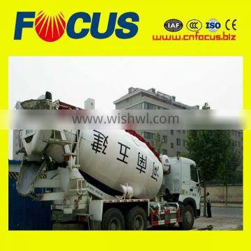 Excellent Performance CE and ISO9001 approved 12m3 mobile concrete truck mixer