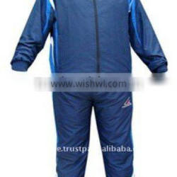 Super Soft Fabric Durable thermal lining Men Blue S-XL Authentic Track Suit