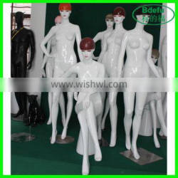 Dress form plastic mannequin makeup fashion realistic mannequin for clothes
