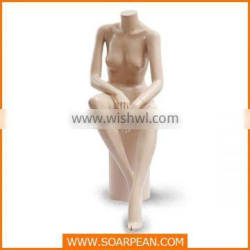 Hot Sale Customized Fiberglass Gig Breast Mannequin