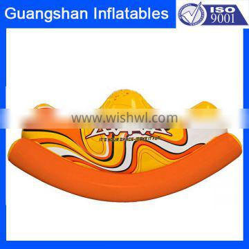 Kid Adult Pool Toy Inflatable banana Seesaw