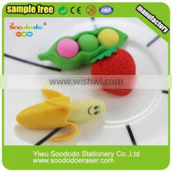 Hottest Novelty 3D Collectible Erasers For KIds