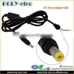 Straight Angle 4.8mm x 1.7mm Plug Laptop Power Adapter DC Cable For HP Charger