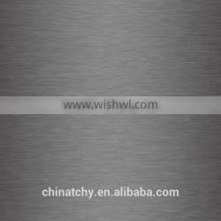 Brushed wire drawing aluminum sheet plate fireproof stucco for aluminum fold plate fishing boats with factory price