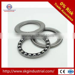 Free samples high precision cheap price China SKG Thrust Ball Bearing 51100 and supply all kinds of bearings