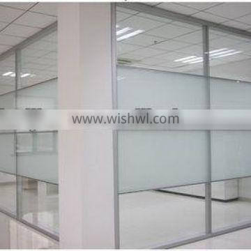 Aluminum glass office partitions office glass wall partitions