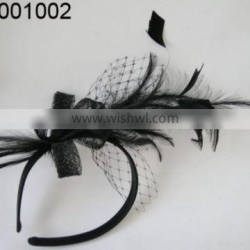 party feather fascinators for fashion lady for wedding party cute accessories