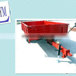 two wheel single alx lager capacity trailer