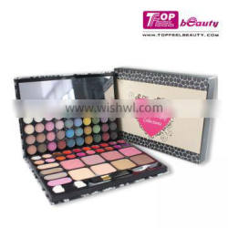 2016 Beauty cosmetic makeup sets72 color eyeshadow palette with PU surface