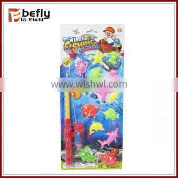 Colorful plastic magnetic fish game
