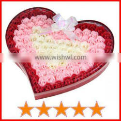 Classic 100pcs scented soap wedding gift/soap flower wedding gift