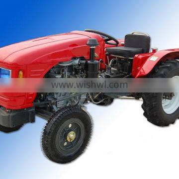 254 mini tractor with different implements