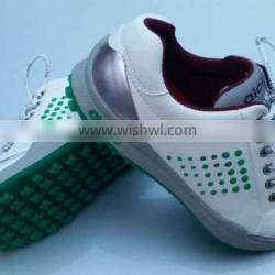 Genuine leather golf shoes men