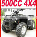 Specialize production Black 4 wheel 500cc atv for sale