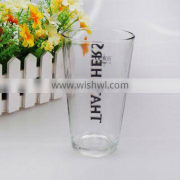 promotion drinking glass cup/beer glasses cup