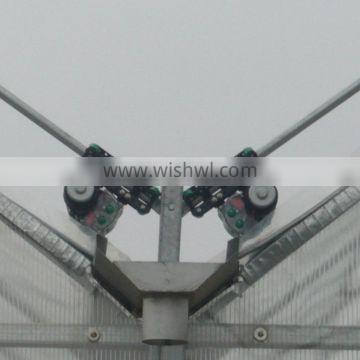 Greenhouse climbing guide brackets for curtain rolling winches Quality Choice