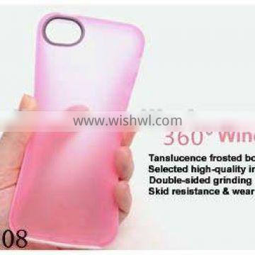 360 windingTransparent Case for iPhone5 case Clear Thin Hard Skin Cover