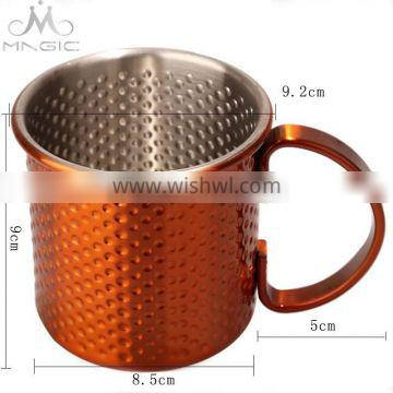 High quality manufacturer antique hammered moscow mule copper mugs