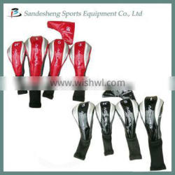 Cheap golf club set head covers with good quality