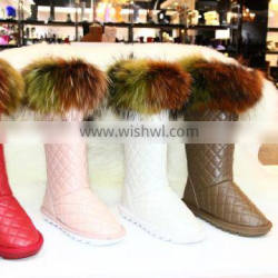 2016 HFUGG women genuine leather snow boot Quality Choice Most Popular