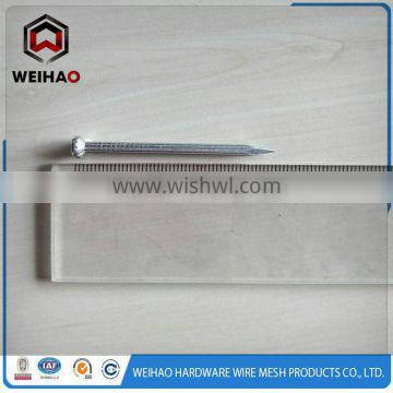 ISO 9001 zinc plated galvanized concrete steel nails supplier