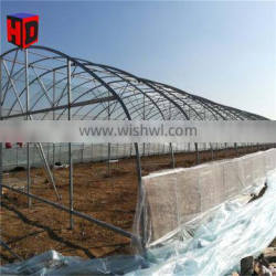 50x8m agriculture single span poly tunnel green houses for farming