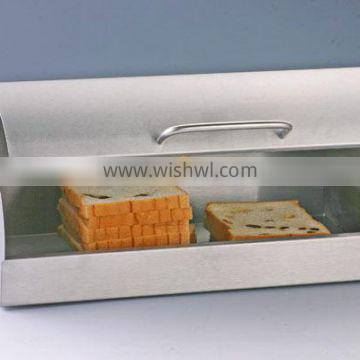 stainless steel fabric bread box
