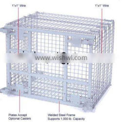 mesh cage collapsible (welded wire)