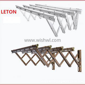 Cheap Price Foldable Telescopic Push Clothes Drying Rack