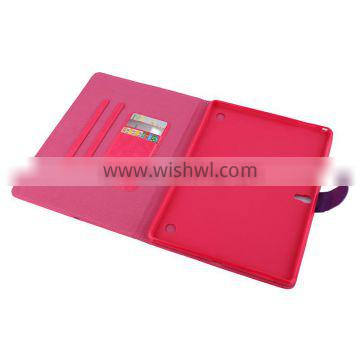 Wallet Flip PU Leather Case Wholesale,Leather Case For ipad air With Card Slot