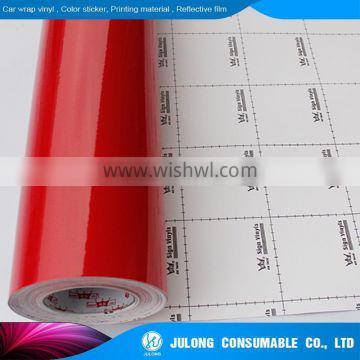 Specializing in KK plotter color PVC film pvc car sticker vinyl cutting with great price