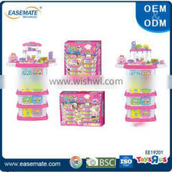 2016 High quality play house kids kitchen set toy