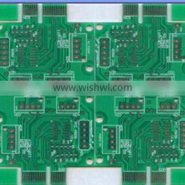 Green Solder Mask Immersion Gold Double Sided Peelable Mask PCB Fabrication