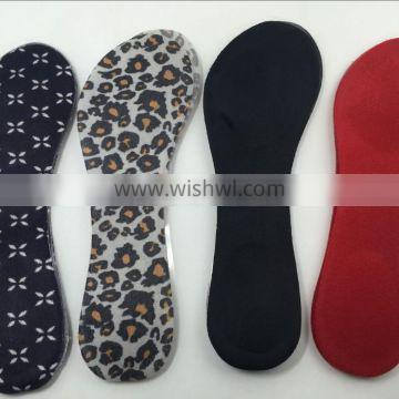 Hot sale 3/4 foot insole pads high heel shoe pads TPR insole pads