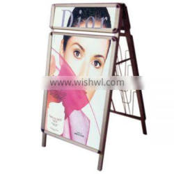 2015 Promotion Double-side Poster Stand With Header