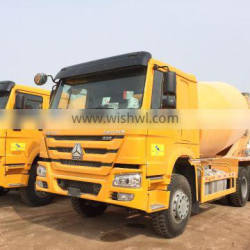 SINOTRUK HOWO 6X4 CONCRETE MIXER TRUCK for heavy duty truck
