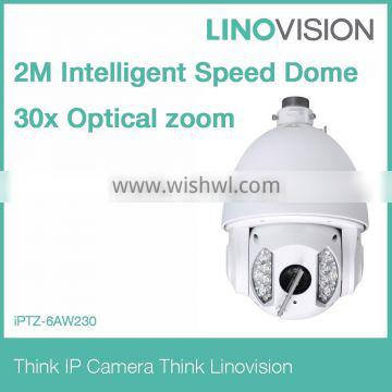 2Mp Full HD Network Auto-Tracking IR Wipe PTZ Dome IR Camera Alarm in/out ,IP66, IR 150m supprt wipe