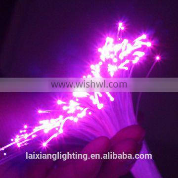 2.0mm PMMA side glow optical fiber of LED Shoelaces material
