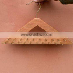 Beech Wood Tie/Belt Hanger Double Sided with 40