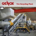 Truck Tire and Car Tire Recycling Plant/Recycling Machine/Paper Shredder