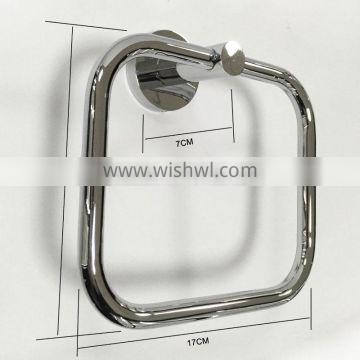 "Chrome Polish Classic Modern Towel ring 24"" Towel Bar Robe hook Paper holder 4pcs Set Bath Accessories Bathroom Hardware"