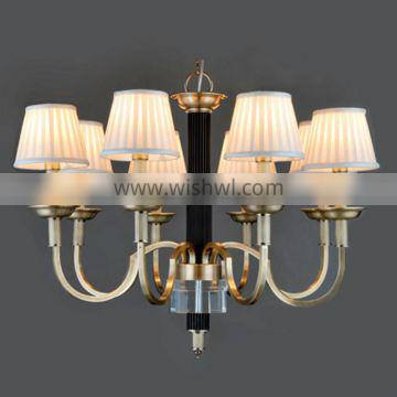 high technology brass pendant lamp classical for hotel
