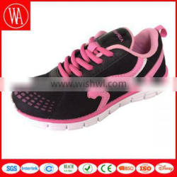 Ladies bright color casual running shoes