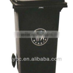 Plastic garbage bin 100L with high quality